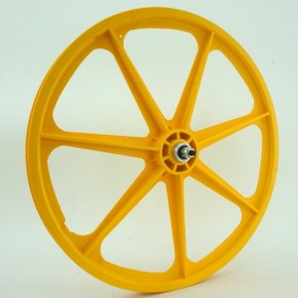 "YELLOW 24"" Skyway TUFF WHEEL SET- Freewheel"