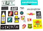 S&M sticker pack assortment (20 decals)