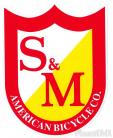 S&M Bicycles Shield decal