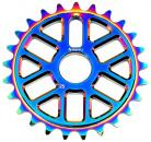 Snafu Ola 25t sprocket JET FUEL
