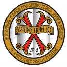Florida BMX Spring Fling X Round Decal