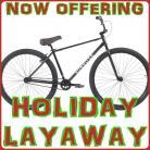 2021 Holiday Bike Layaway Plan