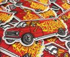 Subrosa Special Delivery iron-on patch