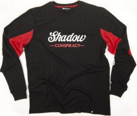 Shadow Conspiracy Contender Jersey BLACK / RED