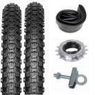 "20"" Tire/Tube/FW Retro Parts Package"