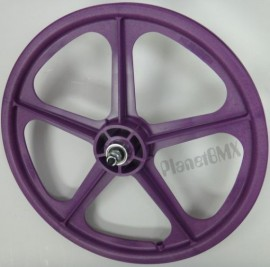 "PURPLE 20"" Skyway TUFF WHEEL II SET- Freewheel"