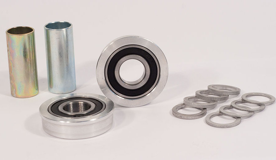 Profile 19mm american retro bottom bracket kit silver for Bb shop