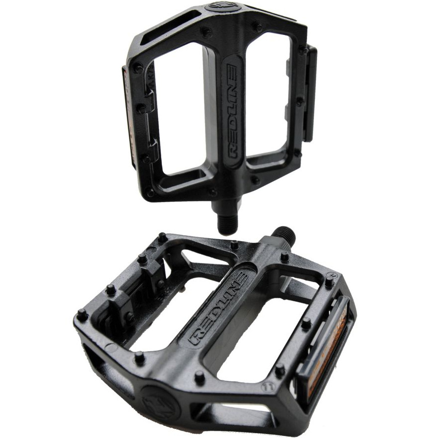 "Redline Alloy Platform Pedals black BMX 1//2/"" 1//2"