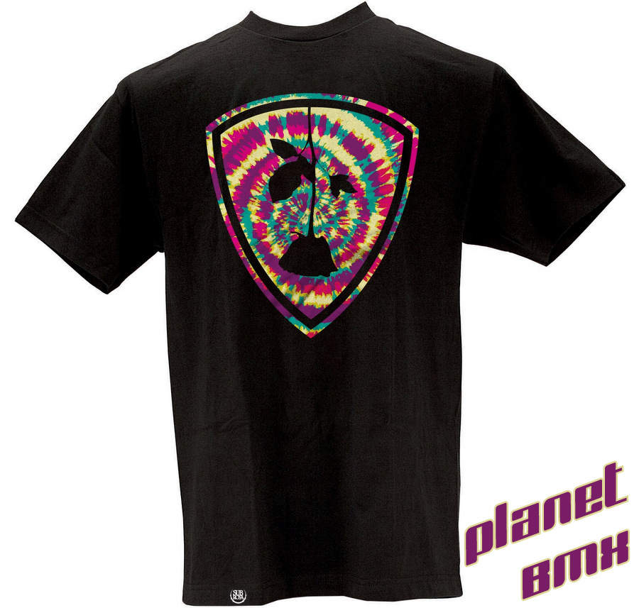 Subrosa Dye Shield t-shirt BLACK - Planet BMX