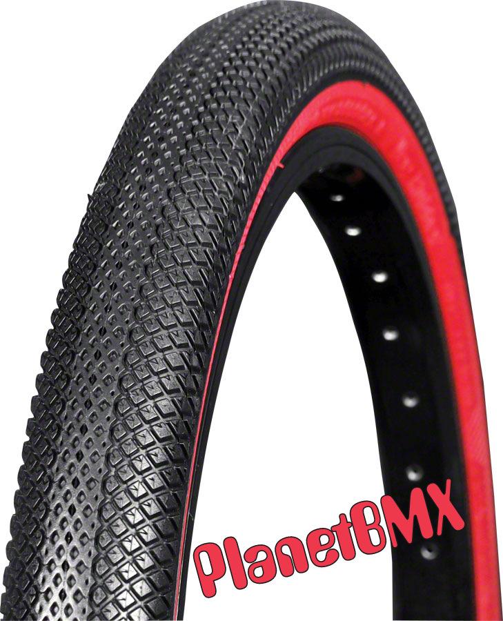 2 Vee BMX Speedster 20x 2.25 Paire de Pliable Perle Rose Mur Vélo Pneus